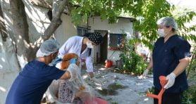 Avcılar'da 86 yaşındaki kadının imdadına ekipler yetişti