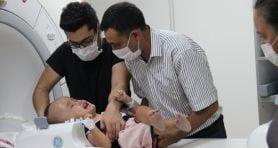Cumhurbaşkanı Erdoğan devreye girmişti; minik Sercan tedavi için İzmir'e geldi