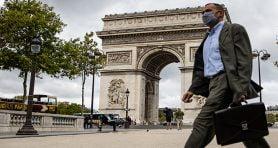 Fransa'da son 24 saatte 5 bin 453 yeni vaka tespit edildi