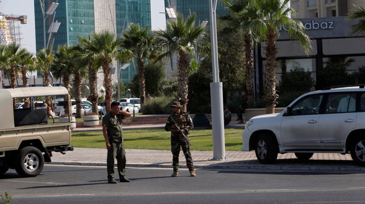 Son dakika… Erbil'de silahlı saldırı! Restoranda Türk diplomatlar vardı